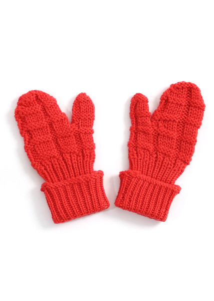 Imogen Kids Mitten - Blood Orange