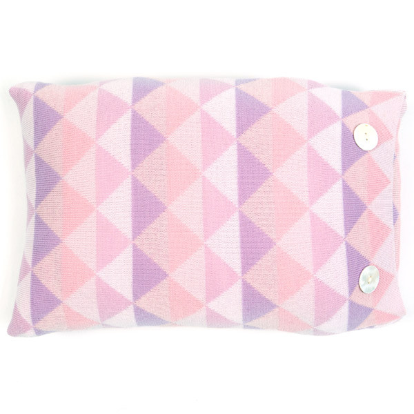 Bindi oblong cushion - Blush