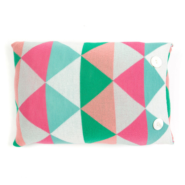 Indiana oblong cushion - Pistachio