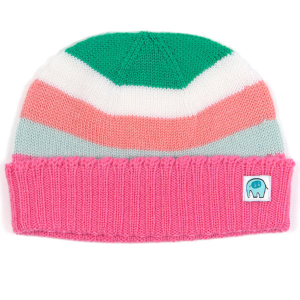 Polly kids beanie - Flamingo