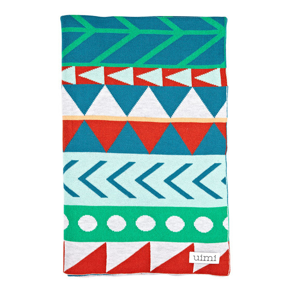 Dakota blanket - Caribbean