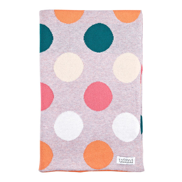 Lucy blanket - Strawberry
