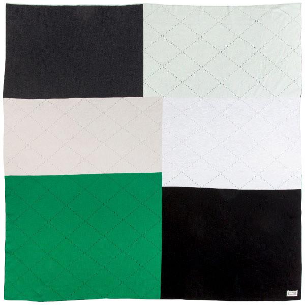 Rocco kids blanket - Emerald