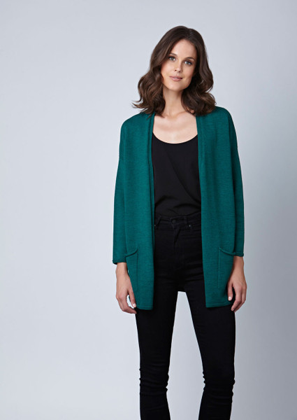 Cassidy cardigan - Bottle green