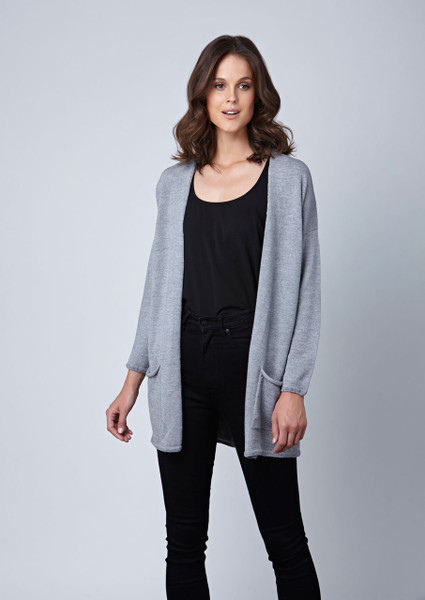 Cassidy cardigan - Pebble