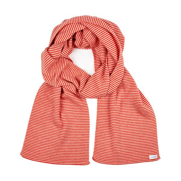 George scarf - Blood Orange