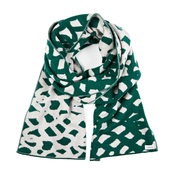 Lauren scarf - Bottle Green