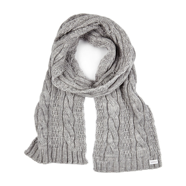 Trinity scarf - Pebble