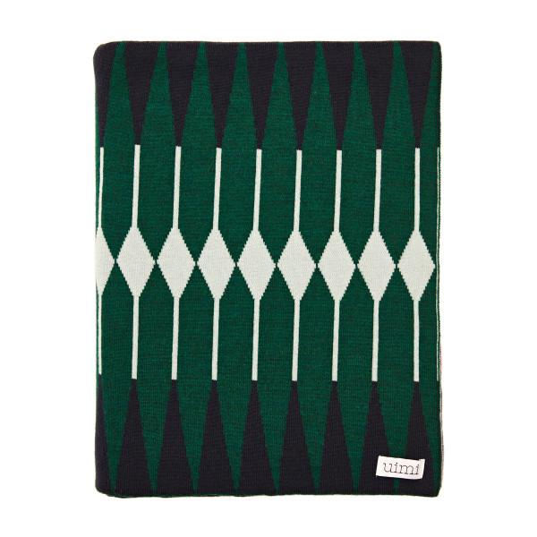 Anya blanket - Azalea - folded