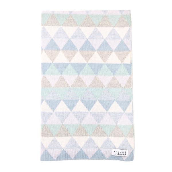 Bindi kids blanket - Sky - folded