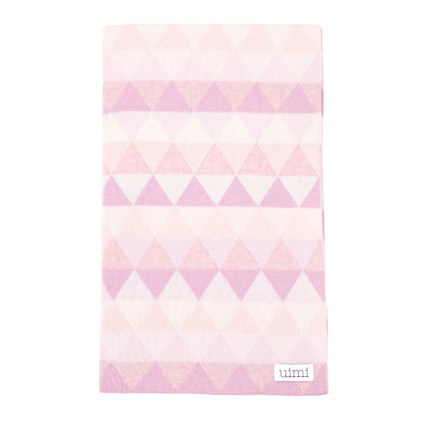 Bindi kids blanket - Sorbet - folded