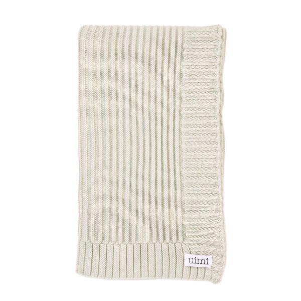 Kendall blanket - Seafoam - folded