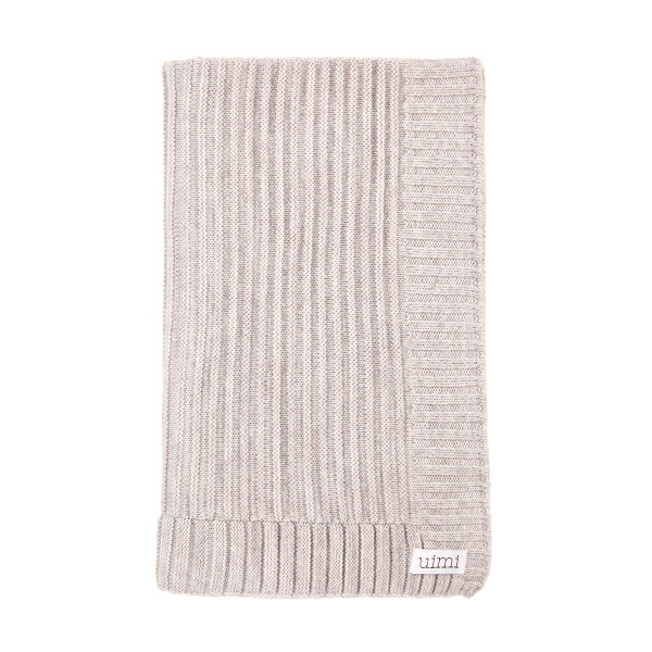 Kendall blanket - Silver - folded