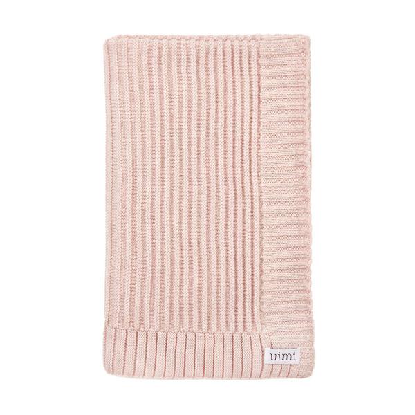 Kendall blanket - Sorbet - folded