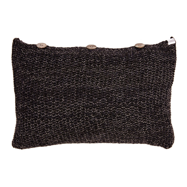 Lulu oblong cushion - Coal