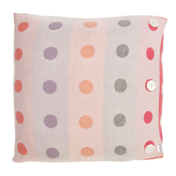 Peggy square cushion - Fairyfloss