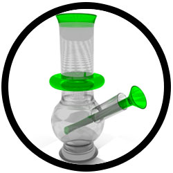 Bong Used for Weed