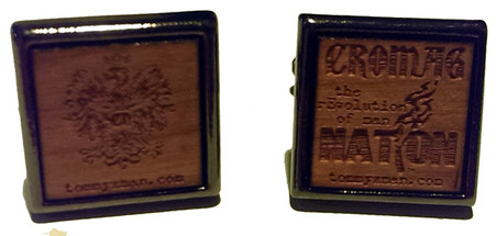 Cromag Nation cufflinks