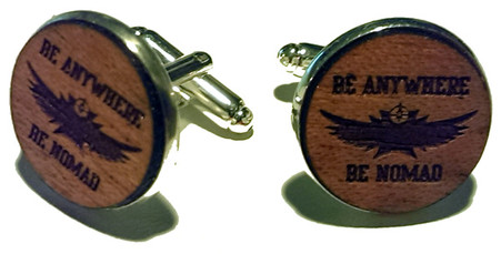 Nomad Cigar cufflinks