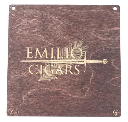 Emilio Cigar placard