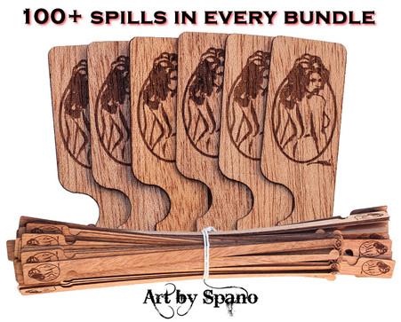"""""""Nude Cigar Girl"""" Spill Bundle"""