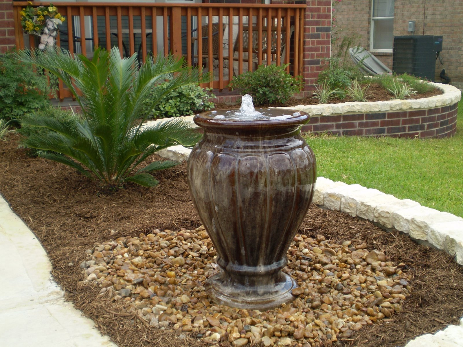 Maintaining your outdoor water feature water gallery llc for Backyard water fountains