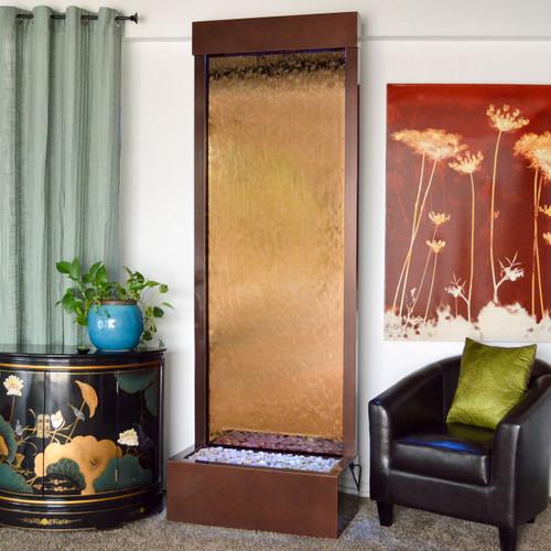 Dark Copper Frame with Bronze Mirror