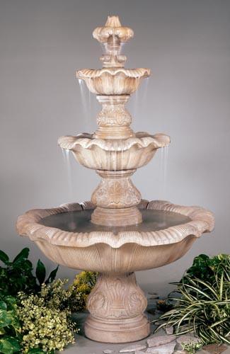 Three Tier Renaissance Fountain