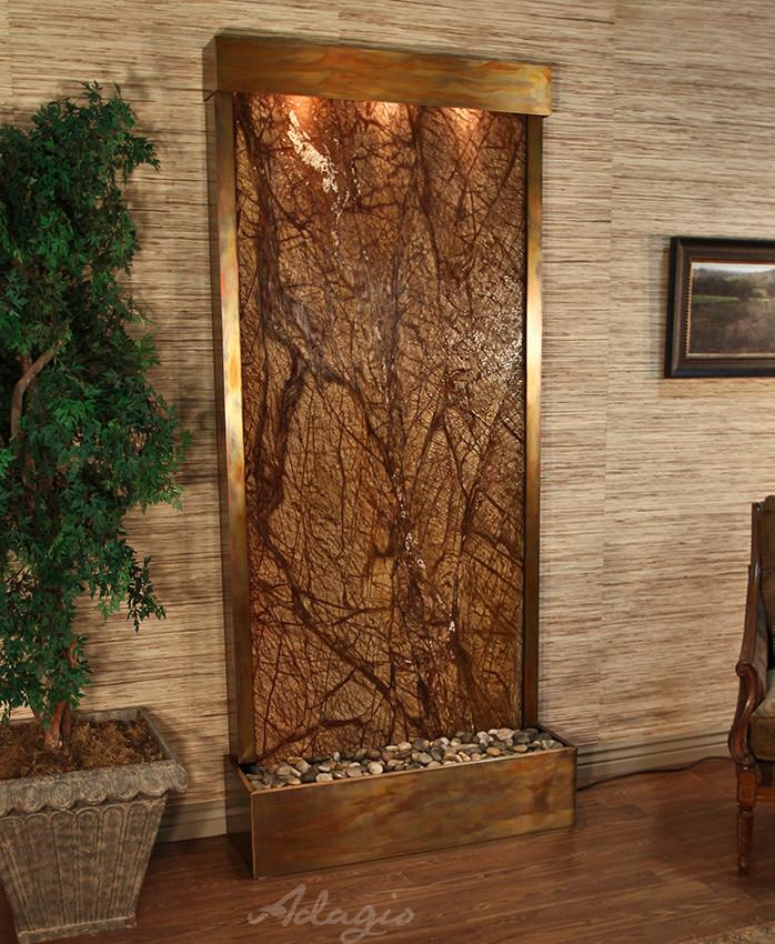 Adagio Indoor Floor Fountain Large Indoor Water Feature