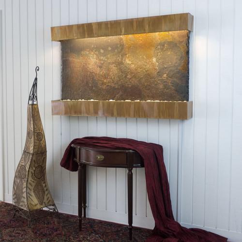 Copper Patina Trim with Rajah Classic Slate