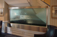 Custom Stainless Steel with Glass Fountain