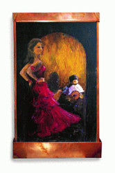 Flamenco Dancer Art Fountain