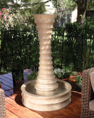 Scallop Fountain (Round)