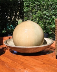 Ball and Wok Fountain