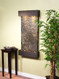 Antique Bronze Trim with Green Slate