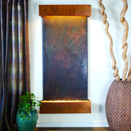 Grande Nojoqui Falls with Copper Patina Trim