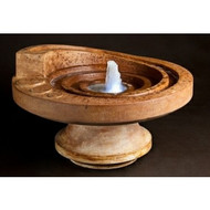 Hurricane's Eye Patio Fountain (side view)