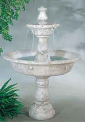 Montreux Fountain By Henri Studio 2 Tier Outdoor Fountain