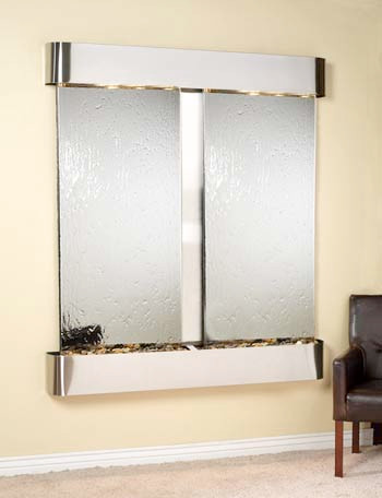 Stainless Steel Trim with Silver Mirror