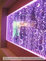 Water Gallery Large Bubble Wall with Circle Baffles