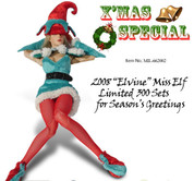Crazy Owners - 2008 Santa Helper Elf Outfit Set