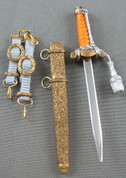 3R - German Officer's Heer Dress Dagger
