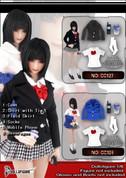 DollsFigure - School Girl - Blue Jacket Set