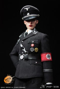 POP Toys - German Woman's Officer Dress Suit - Black