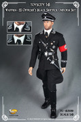 Toys City - Waffen-SS Officer Black Service Uniform Set