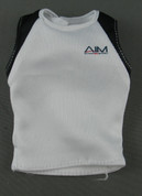 Hot Toys - Muscle Shirt - White & Black - AIM