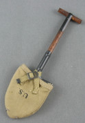 DID - Shovel - Entrenching Tool - Wood & Metal