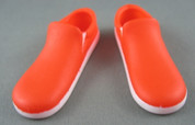 Asmus Toys - Shoes - Orange & White