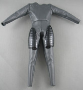 Sideshow - Jump Suit - Dark Grey - Thigh Armor