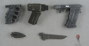Hot Toys - Battle-Kata - Glock 21, Combat Knife, Punching Dagger, Holster